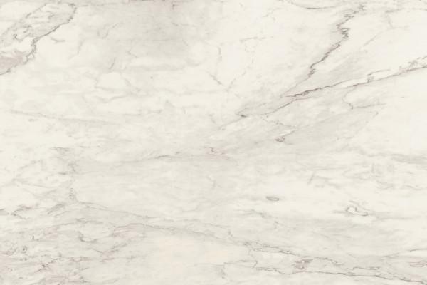 FLORIMstone Marble Calacatta A glossy Unmaßplatten 12 mm nicht rektifiziert mit Netz