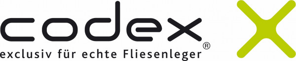 Codex X-Tec Flex-Fugenmörtel schnell flexible, farbbrillanter Zementfugenmörtel für Fugenbreiten von