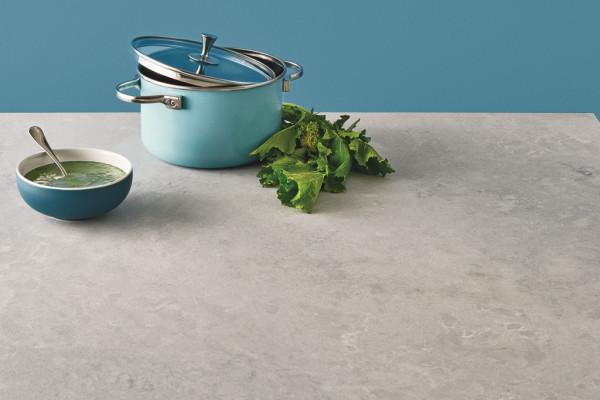 Caesarstone 4044 Airy Concrete rough Unmaßplatten 1,3 cm