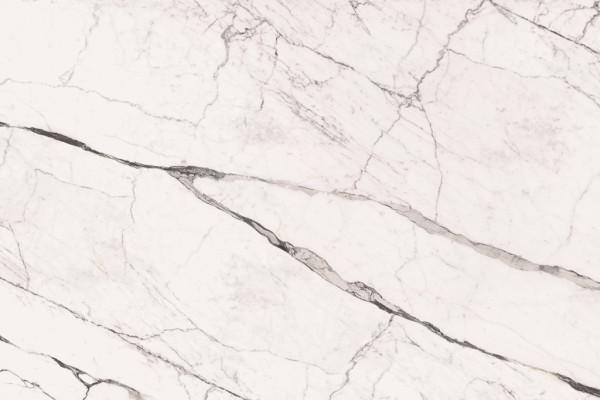 FLORIMstone Marble Eternal White A matte Unmaßplatten 12 mm nicht rektifiziert mit Netz
